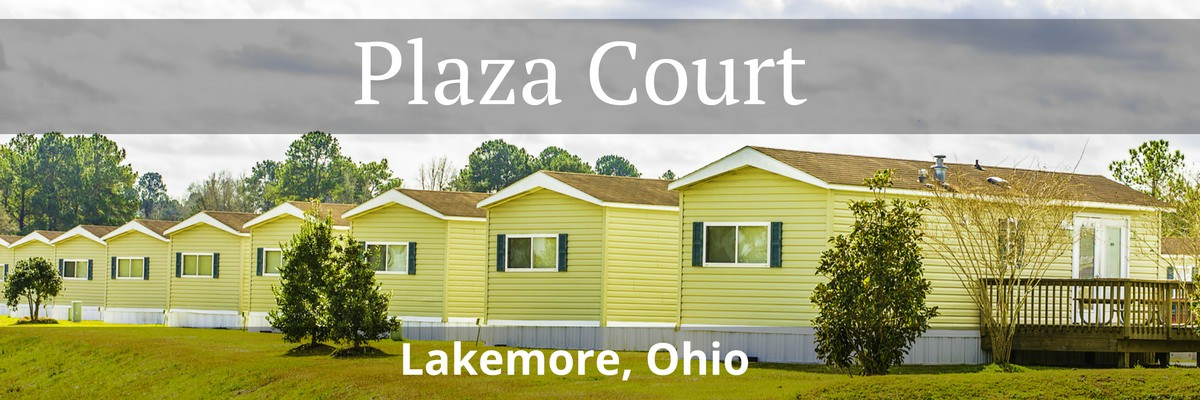 Plaza Court Homes Mobile Home Park In Lakemore Ohio
